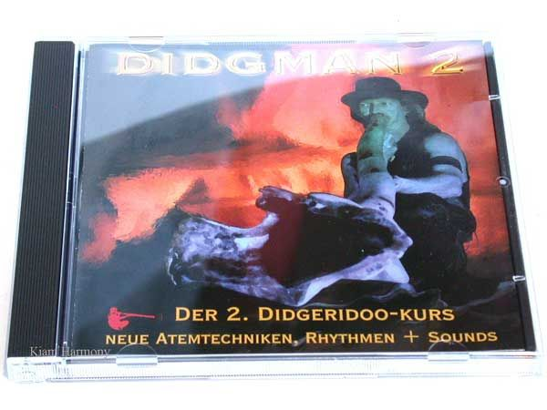 CD - Didgman 2 -  Didgeridoo-Kurs