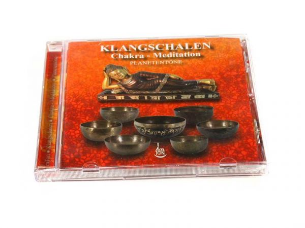 CD Klangschalen Chakra Meditation Planetentöne