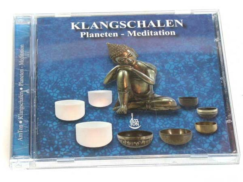 CD Klangschalen Planeten Meditation