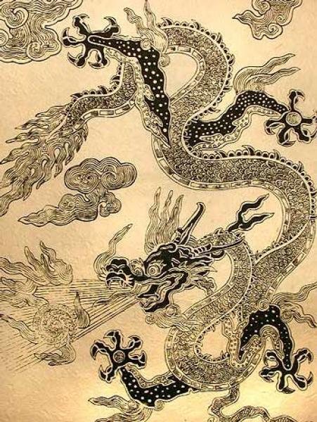 chinesische drachen bilder zum ausmalen  malbild